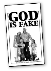 god is fake